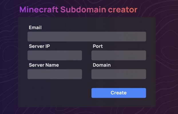 New Subdomain Creator